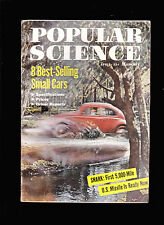 April 1958 Popular Science Magazine- Best Selling Small Cars, Snark Missile