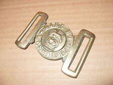 Dieu Et Mon Droit - Brass Army Belt Buckle - As Photo.