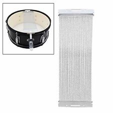 """40 Strand Coiled Snare Wire For 14"""" Snare Drum Cajons Silver"""