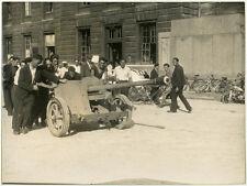 Photo Pendant La Libération de Paris Guerre Août 1944