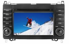Mercedes Media Station TFT-LCD Black Deckless Navigation DVD Receiver panel 7""