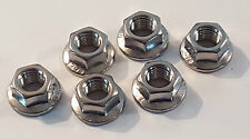 TOYOTA SUPRA MKIV MK4 JZA80 STAINLESS SUSPENSION STRUT TOP NUTS LEXUS SOARER