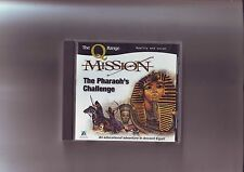 MISSION : THE PHARAOH'S CHALLENGE - PC & MAC EDUCATIONAL ADVENTURE GAME - VGC