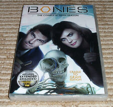 Bones: The Complete Sixth Season (DVD, 2011, 6-Disc Set) Factory Sealed!