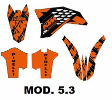 kit adhesivos ktm 2008, 2009, 2010, 2011 exc sx, sticker graphics