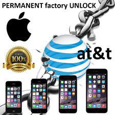 FACTORY UNLOCK PREMIUM SERVICE CODE ATT IPHONE 5 5S 5C 4 4S 6 6+ 3 3GS AT&T IMEI