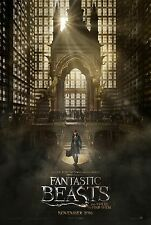 Fantastic Beasts And Where To Find Them Movie Poster (24x36) - Eddie Redmayne