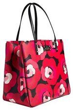 Kate Spade Bag WKRU2751 Ellison Avenue Sidney Tote Floral DecoRed Bag Agsbeagle