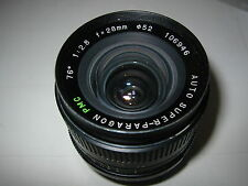 CONTAX YASICA FIT 28MM F2.8 PMC AUTO SUPER PARAGON WIDE ANGLE LENS