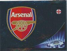 N°084 LOGO BADGE # ENGLAND ARSENAL.FC CHAMPIONS LEAGUE 2013 STICKER PANINI