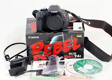 Canon EOS Rebel T4i / 650D 18.0MP Digital SLR Camera Body LOW SHUTTER COUNT