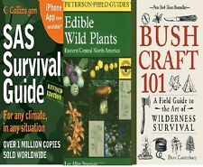 FSAS Survival Guide + A Field Guide to Edible + Bushcraft 101 (Paperback) (Set)