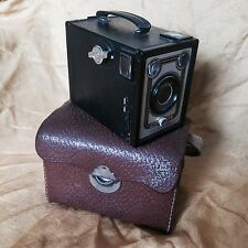VREDE BOX mi LEDERtasche Rollfilm VREDEBORCH-Menis Made In Gemany Camera Rarität