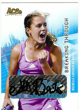 2008 ACE MICHELLE LARCHER DE BRITO GOLD AUTO @  21/24 GRAND SLAM #BT39 RC