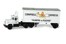 1:64 First Gear *CAMPBELL 66 EXPRESS* Mack R Semi Truck w/BOX TRAILER *NIB!*