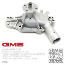 GMB WATER PUMP V8 253-308 RED/BLUE ENGINE [HOLDEN HT-HG-HQ-HJ-HX-HZ-WB ]