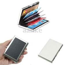 Business ID Credit Card Holder Protection Case IMS RFID Aluminum Metal Wallet