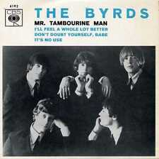 "BYRDS ""Mr. TAMBOURINE MAN"" ORIG PORT EP 1966 M-"