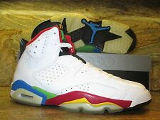 2008 Nike Air Jordan Olympic 6 VI Retro SZ 9 Beijing White Red Green 325387-161