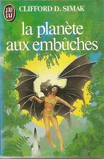 La Planète aux embûches.Clifford Donald SIMAK. Science Fiction SF21B