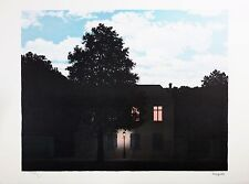 René Magritte - The Empire of Light (color lithograph, plate-signed & numbered)