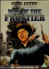 MAN OF THE FRONTIER. GENE AUTRY THE SINGING COWBOY.NEW DVD