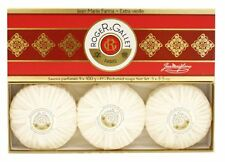 Roger and Gallet Jean Marie Farina Box of 3 Perfumed Soaps x 3.5 oz.
