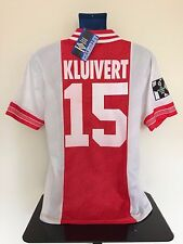 AFC Ajax KLUIVERT 94/95 Home Football Shirt BNWT (M) Soccer Jersey