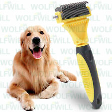 Pet Republique Professional Dog Dematting Comb Rake – Undercoat & Mat Brush Tool