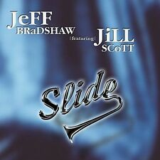 JEFF BRADSHAW/Jill Scott-SLIDE-Go Remix-TROMBONE-Jazz-Fusion-SINGLE-Soulful-HORN