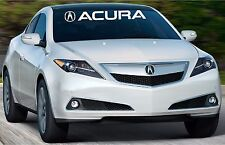 acura Windshield Banner Vinyl Decal Sticker