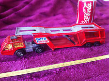 Matchbox Super Kings Marriage Lorry Car Transporter Lesney Auto Transport