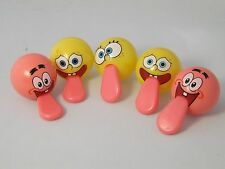 10 Spongbob Stretchy Tongue Balls, PARTY BAG TOYS, GIFTS, FAVOURS