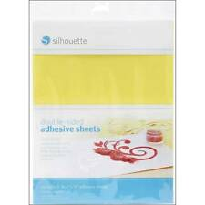 "Silhouette Double-Sided Adhesive Sheets 8.5""X11"" 8/Pkg CAMEO glittering MEDIAA"