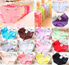 10Pcs Lady Girl Women Color Random H.P PULO Pants Modal Cotton Briefs Underwear