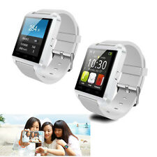Luxury Bluetooth Smart Wrist Watch Phone Mate Sync Call SMS for Samsung LG G3 G4