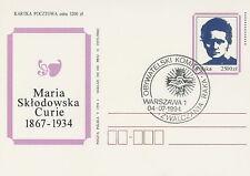 Poland postmark WARSZAWA - medicine cancer