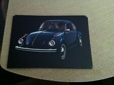 1973 Volkswagen Beetle Postcard Unused