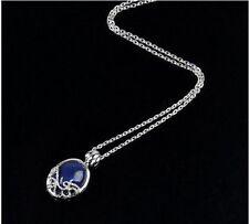 Movie Vampire Diaries Katherine Anti-sunlight Lapis Lazuli Vintage Necklace