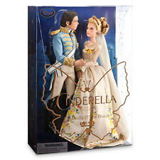 DISNEY STORE CINDERELLA & THE PRINCESS LIVE ACTION FILM COLLECTION DOLL SET 11""