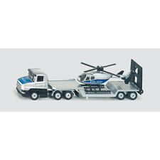 SIKU Low Loader With Helicopter * die-cast toy vehicle model * NEW
