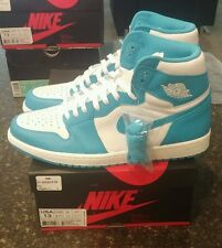 100% authentic sz 13 DS Jordan I Retro 1 high og powder blue carolina
