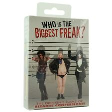 Kheper Games Who's the Biggest Freak? Drinking Party Game 2-12 Players