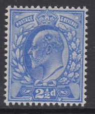 SG 230  2 1/2d  Deep Ultramarine M16 (1) Post Office fresh unmounted mint .