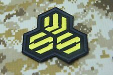 "ROBOTECH MACROSS S.M.S STRATEGIC SEW ON PATCH 3 X 3 ""  P147"