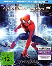 THE AMAZING SPIDER-MAN 2: RISE OF ELECTRO (Blu-ray 3D + Blu-ray Disc) NEU+OVP