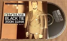 DAVID BOWIE / BLACK TIE WHITE NOISE - CD maxi single (UK & Europe 1993)