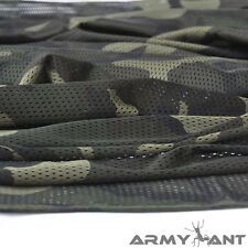 "Woodland Camo Camouflage Net Cover Army Military 60""W Mesh Fabric Cloth"