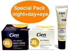 CIEN Q10 ANTI-WRINKLE DAY & NIGHT FACE AND EYE CONTOUR CREAM HYPOALLERGENIC