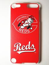 MLB Cincinnati Reds Apple iPod Touch iTouch 5/6th Plastic One-Piece Slim Case